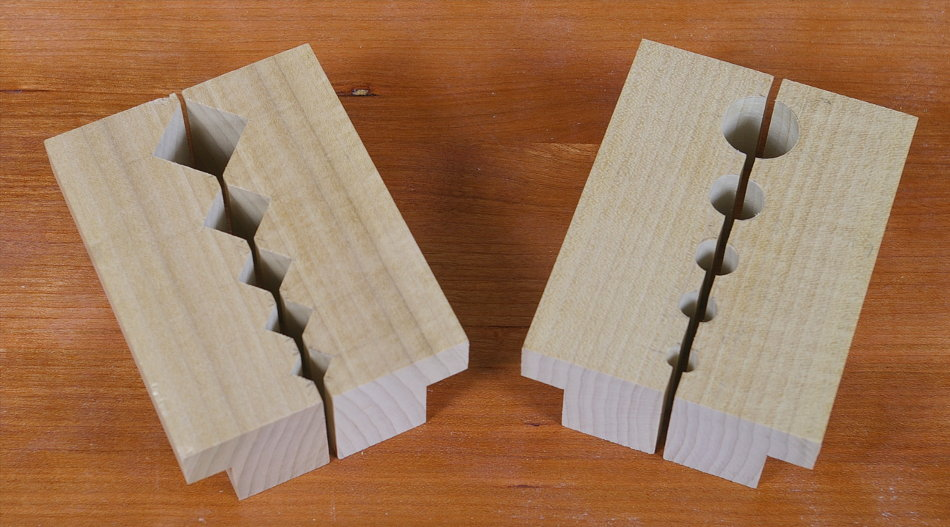 Grips Dowels Or Square Workpieces Verticallly