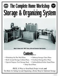 Home Workshop Storage Plans