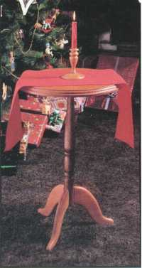 Candle Stand Table plans