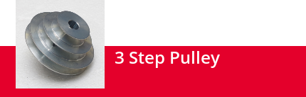 3-Step Pulley