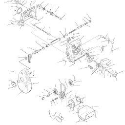 shopsmith mark v headstock saw exploded parts diagram rh shopsmith com